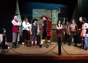 Treasure Island Can Long John Silver and his crew convince Tom to join them.jph
