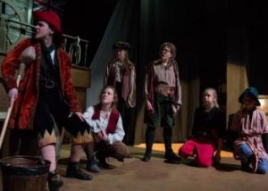 Treasure Island Long John Silver and his crew are scheming