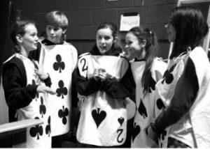 Alice in Wonderland cards costume