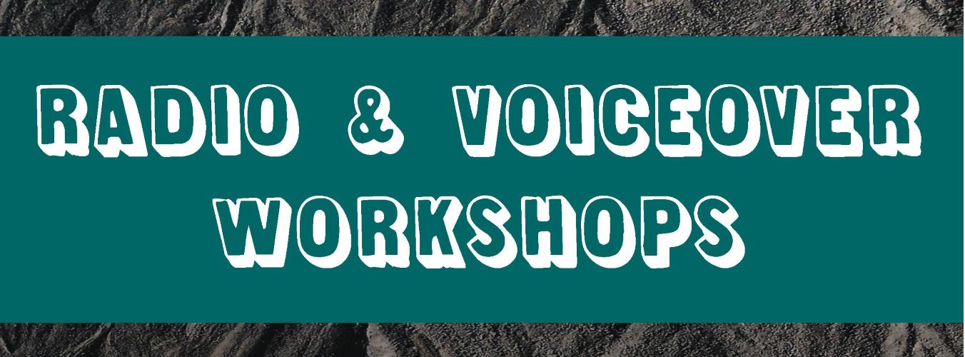 Adults Radio Voiceover Workshop Header Image