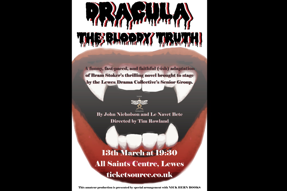 Dracula Bloody Truth Poster
