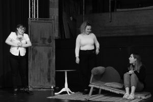 'Dracula: The Bloody Truth' rehearsal picture
