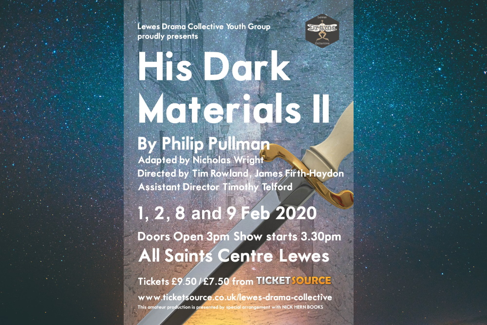 His Dark Materials Two Poster Lewes Drama Collective