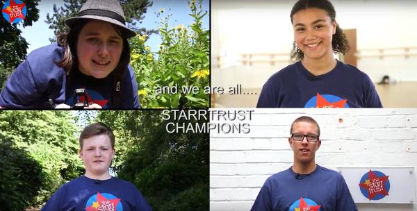 Starr Trust champions charity children