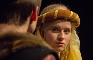 King John's mother, Queen Eleanor of Aquitane does not look amused