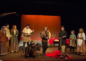 Robin Hood sets things right and puts King John and The Bishop of Hereford in their rightful place