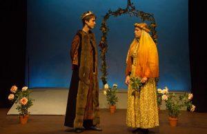 King John plots against his mother, Queen Eleanor of Aquitaine