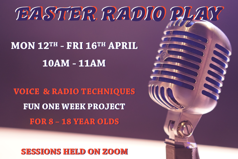 Easter Holiday Activity – Online Radio Play